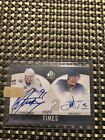2010-11 Steven Stamkos John Tavares SP Authentic Sign Of The Times 2 UD Auto