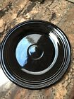 "Fiesta HLC Fiestaware Black Chop Plate Serving Platter 12"" Retired Early Post 86"