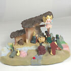 Nativity set creche narrated Story of baby Jesus Christmas display lights sound