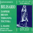 MARA ZAMPIERI - Donizetti: Belisario (complete Version) - 2 CD - Live - **NEW**