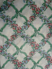 WAVERLY Rose Trellis Nantucket 3 1 2 Yds Floral Upholstery Drapery Fabric USA
