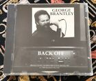 GEORGE BRANTLEY (RATZLAFF) - BACK OFF CD NEW! FORMERLY OF POTLIQUOR FREE SHIPPNG