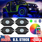 For Suzuki Hayabusa GSX1300R RGB LED Rock Lights Bluetooth Multi Color Body Glow