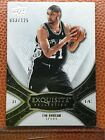 2008-09 Upper Deck Exquisite Collection Tim Duncan #'d 53 125