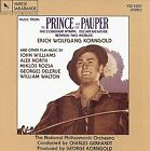 ERICH WOLFGANG KORNGOLD - Prince And Pauper, Constant Nymph, Escape Me NEW