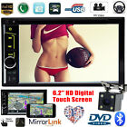 Ford 6.2'' Din HD Digital Touch Screen FM MP5 Player + 1* 170° Car Backup Camera