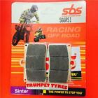 Sachs XTC 125 XTC N 99 > ON SBS Front Off Road Race Sinter Brake Pads Set 566RSI