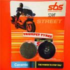 Hyosung GF 125 98 > ON SBS Front Ceramic Brake Pads Set OE QUALITY 524HF