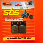 Tomos BT 50 S 89 SBS Front Ceramic Brake Pads OE QUALITY 595HF