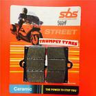 MZ 660 MUZ Skorpion Traveller 99 > ON SBS Front Ceramic Brake Pads OE QUALITY