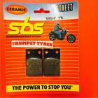 Tomos N 50 AT BT 91 > ON SBS Front Ceramic Brake Pads OE QUALITY 595HF