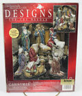 Janlynn Counted Cross Stitch Kit Nativity Figures Holy Family 14 Ct Aida Sealed