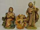 327 3 piece Fontanini Italy Nativity Holy Family 5