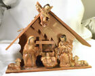 2680 Vintage OLD Nativity made in Japan 7 piece