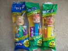 Pez  Flintstones Pebbles Barney plus Fozzy Bear   New in Package