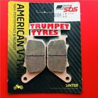 Harley Davidson XL 883 C Sportster Custom 04 > 13 Rear Sinter Brake Pads 808H.LS