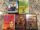 LOT OF 5 YOGA BOOTY BALLET Biggest Loser EXERCISE WORKOUT DVDS