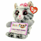 TY Beanie Babies Boo Peek A Boos MOLLY the KITTY CAT Phone Holder New with Tags