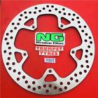 GILERA 300 NEXUS IE 08 - 14 NG FRONT BRAKE DISC GENUINE EO QUALITY UPGRADE 1001