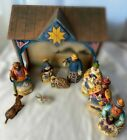 Heartwood Creek Jim Shore Nativity Set Complete 2003 10 Piece Set w all Boxes