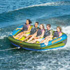 5 Person Towable Raft Float Water Sports Boat Inner Tube Inflatable Tow Tubing