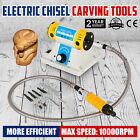 220V Electric Chisel Carving Tools Wood Chisel Carving Machine Kit 4 Blades