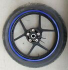 08-10 2008 KAWASAKI ZX10R ZX 10 ZX10 FRONT WHEEL RIM TIRE STRAIGHT STOCK OEM