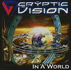 CRYPTIC VISION - In A World - CD - **BRAND NEW/STILL SEALED**