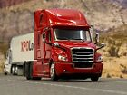 1 64 DCP RED FREIGHTLINER 2018 CASCADIA HIGH ROOF SLEEPER