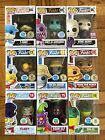 Funko Pop Spastik Plastik Limited Edition Anniversary 9 Piece Numbered Set Rare