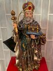 Christopher Radko 8 Cold Cast Resin King Melchior Nativity Figure In Box