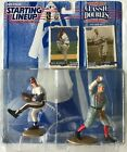 1997 Starting Lineup Classic Doubles Greg Maddux and Cy Young Figures - NIB