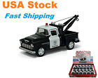 1955 Chevy Stepside Pickup Police Tow Truck Diecast Toy Car 5132 Dozen