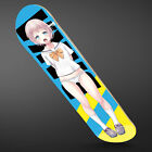 Anime Girl Skateboard Deck Steep Concave  Mellow Concave