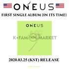 ONEUS 1ST SINGLE  ALBUM 'IN ITS TIME' <FREE GIFT> FROM USA