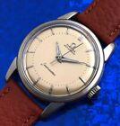 Vintage 1954 Mans OMEGA Seamaster Automatic Fully Serviced W/ 1 Year WARRANTY