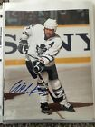 Wendell Clark Signed Autographed Toronto Maple Leafs 8 x 10 Photo NHL