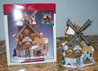 Lemax Harvest Crossing East Moorland Windmill Christmas Village House 25682 +Box