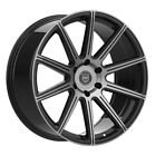 4 G42 MOD 22 inch Black Tint Rims fits JEEP LIFTED GRAND CHEROKEE