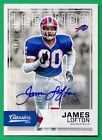 2016 Classics JAMES LOFTON Auto AUTOGRAPH Bills 4 15