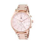 Tommy Hilfiger 1781873 Women Stainless Steel Analog Pink Dial Wrist Watch E43-3