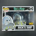 Funko Pop Ricks Ship 34 Rick And Morty Television Figure Hot Topic Exclusive