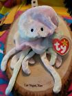 Ty Goochy 1998 Jellyfish Pink Pastel Colors New Gorgeous Beanie Baby