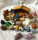 Lot Fisher Price Little People Nativity Zoo Animals 30 Pcs