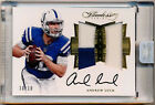 2016 Flawless ANDREW LUCK Auto AUTOGRAPH PATCH Colts *RARE 10 10