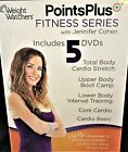 Weight Watchers PointsPlus Fitness Series W Jennifer Cohen 5 Disc Set 2011