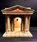 Vintage 1998 Fontanini 5 Scale Temple Heirloom Nativity By Roman Inc 50219