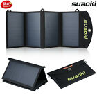 25W 5V Foldable Dual port Solar Charger Smart TIR C Power Bank Battery Charger