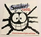 SPIDER! I'm Only Scary Hairy CD 1992 JEFF STEVENSON 13 songs BBC TV ABC For Kids