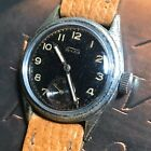 Fortis Wyler 1940s WWII Vintage Military Style Swiss Watch Early/Rare 15 Jewels